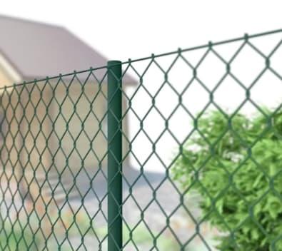 <strong>Забор из сетки рабицы</strong>